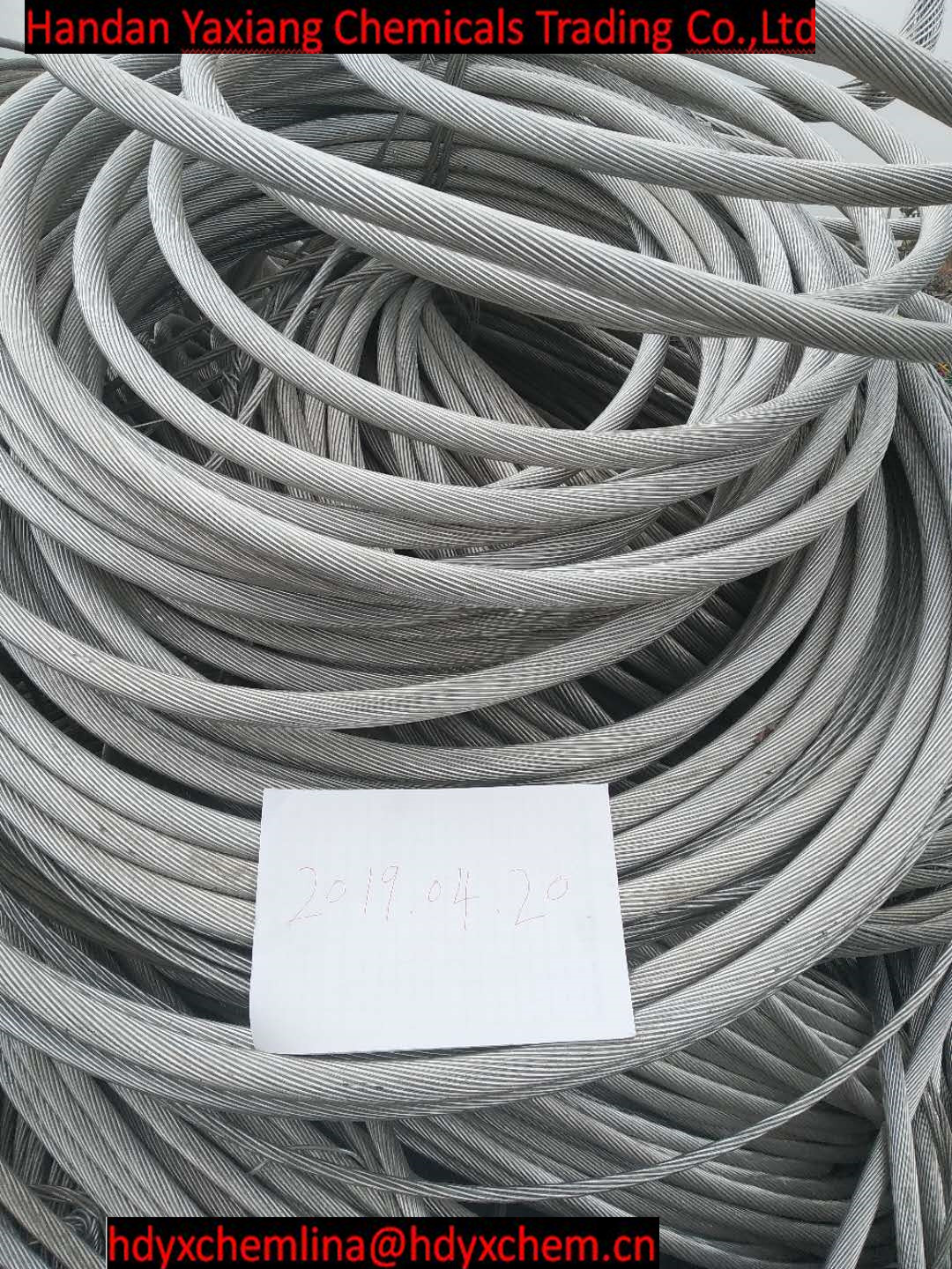 Aluminum  wire scrap